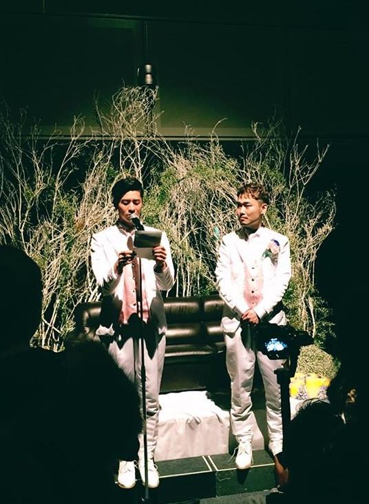 男性同士の結婚式