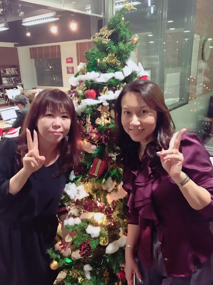 クリスマスイブのラジオ放送は・・・