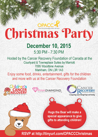 Upcoming Event: OPACC Christmas Party