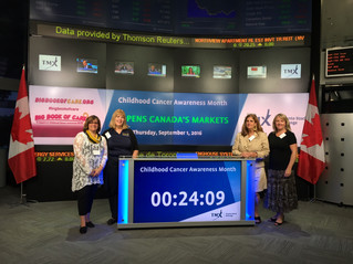 OPACC at CCAM TSX market opening ceremony