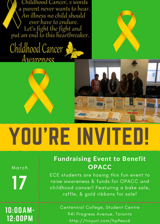 Fundraiser for OPACC on March 17th!