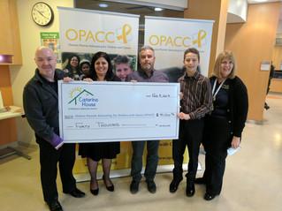 OPACC receives major donation