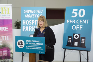 OPACC's involvement in the hospital parking policy announcement