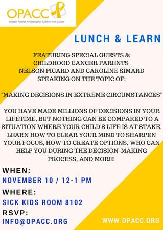 New OPACC Lunch & Learn