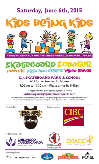 Kids Being Kids day at C.J. Skateboard Park