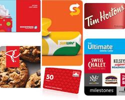 Sponsor Gift Cards