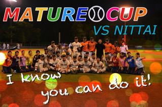 マチュアカップ応援 対日本体育大学戦