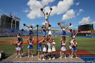 9月の東京六大学野球応援