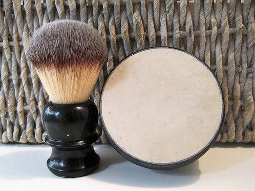 סבון גילוח ומברשת גילוח