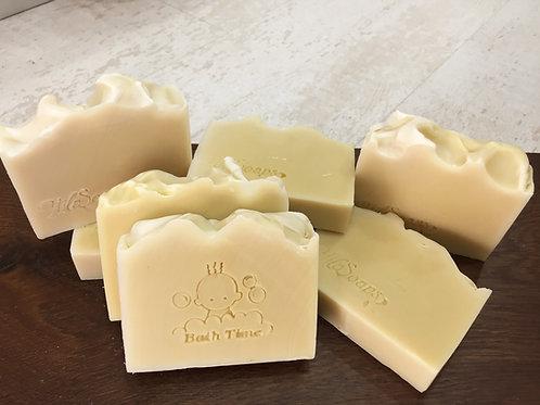 סבון לבנדר אורגני (גם לתינוקות) עשר יחידות