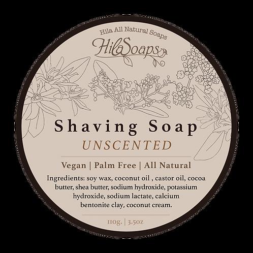סבון גילוח טבעי ללא ריח לעור רגיש