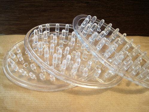 סבוניות מסיליקון עם חורים באיכות מעולה - לשמירה על הסבון הטבעי