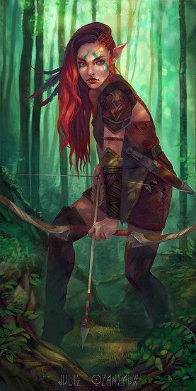 Warrior Elf Custom