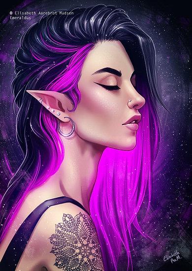 N ~ Female High Elf Vampire Hybrid ~ Discernere Companion