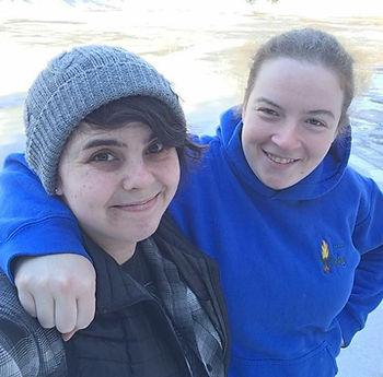 Julie Côté and Emma Kent