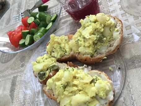 Vegan Egg Style Salad