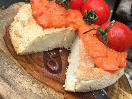 Baked Almond Cheese