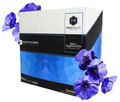 Silicio Organico de Mesofrance (paquete de 10 amp)