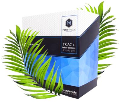 Triac + Tejido adiposo de Mesofrance (paquete de 10 amp)