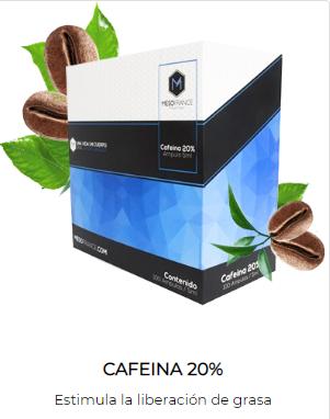 Cafeína de Mesofrance (paquete de 10 amp)