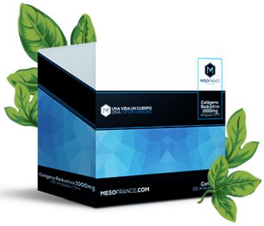 Colágeno Reductivo Abdominal de Mesofrance (paquete de 10 amp)