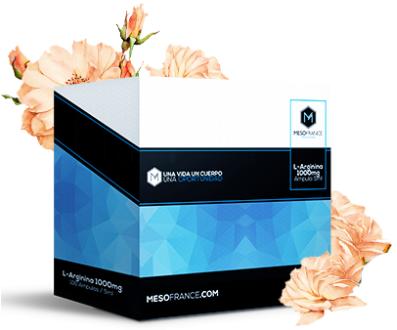 L- Arginina de Mesofrance (paquete de 10 amp)