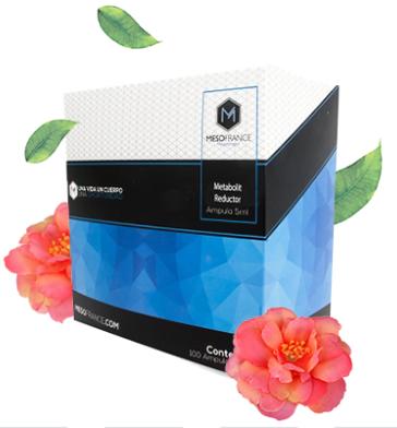 Metabolit Reductor de Mesofrance (paquete de 10 amp)