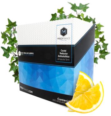 Coctel Reductor Anticelulitico  de Mesofrance  (paquete de 10 amp)