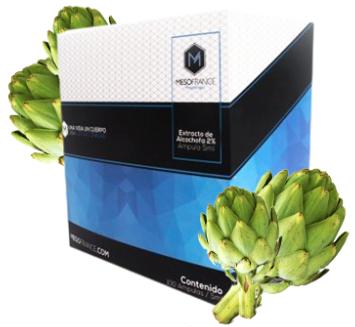 Extracto de Alcachofa 2% de Mesofrance (Paquete de10 amp)