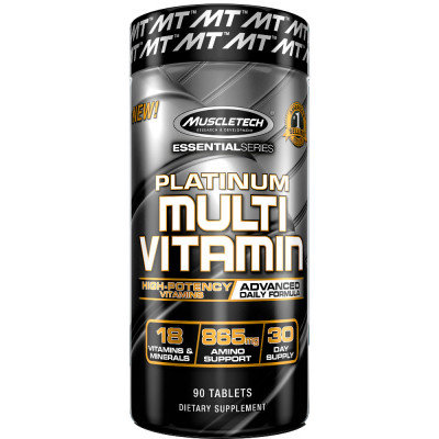 Platinium Multivitamin de Muscletech