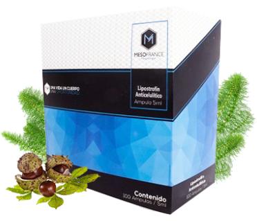 Lipostrofin Anticelulitico de Mesofrance (paquete de 10 amp)