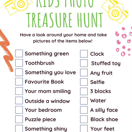 Kids Photo Treasure Hunt