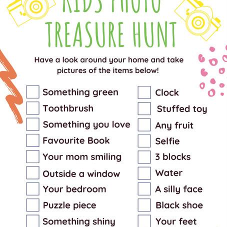 Kids Photo Treasure Hunt