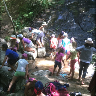Mini-camp au Moulin des Sittelles à Burlats