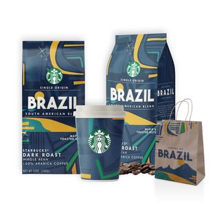 Starbucks Single Origin Packaging Redesign