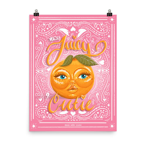 Miss Juicy Cutie Poster