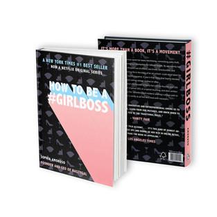 #GIRLBOSS Book Cover Redesign