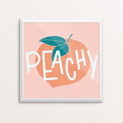 Peachy Print