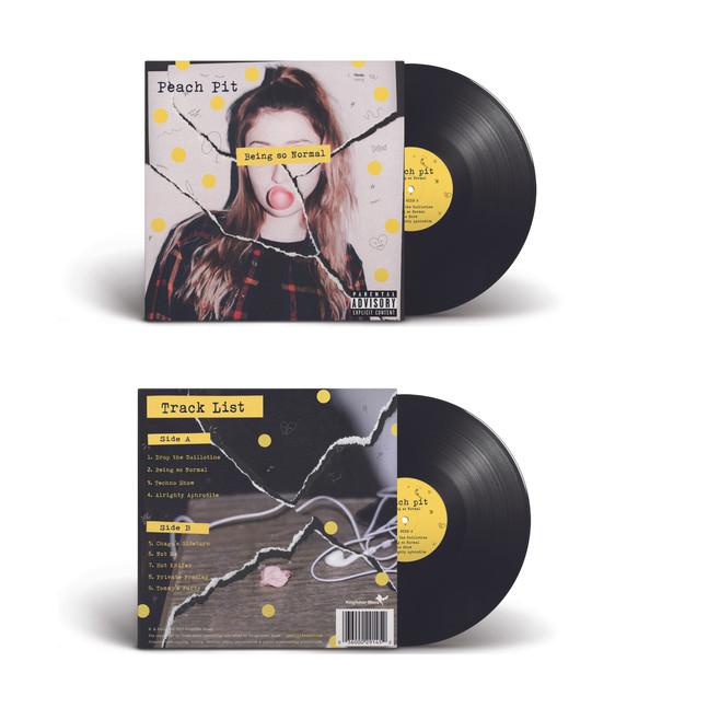 Peach Album Cover Redesign