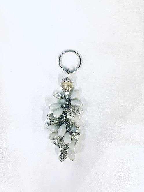 Glass Beads Keychain