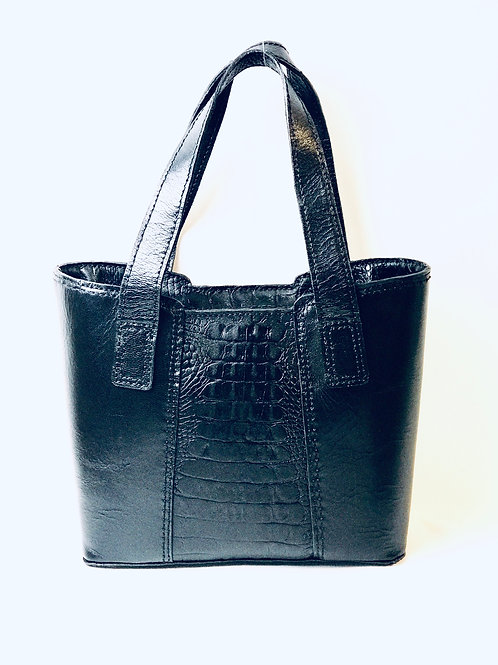 Hand-Stitched Leather Tote
