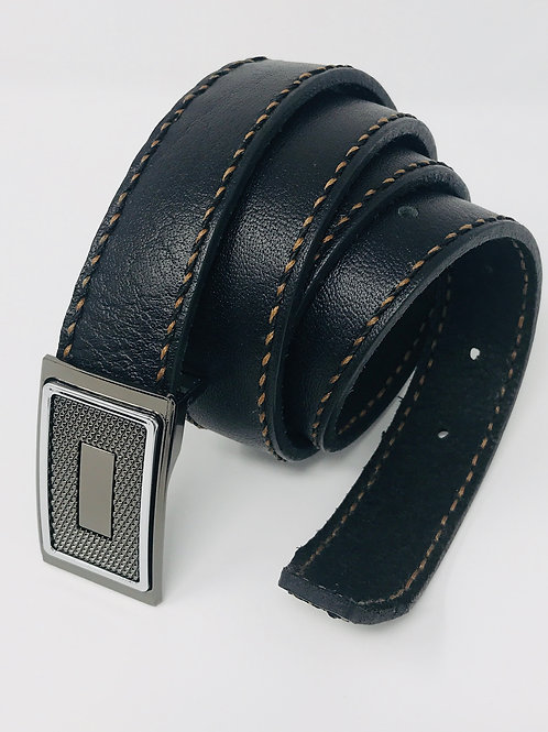 Men's Top Grain Leather Belt Flexible