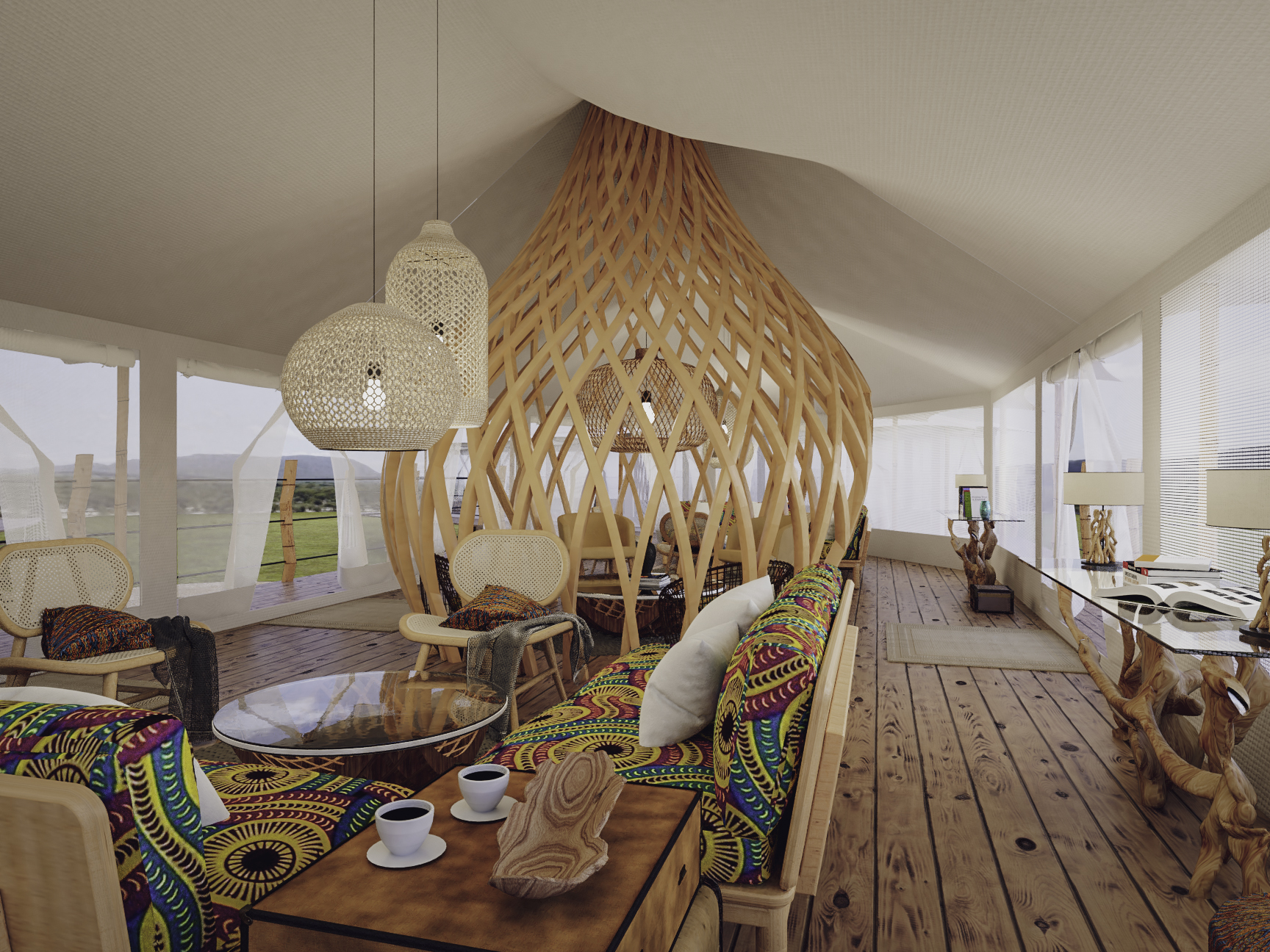 Lounge tenty_tented camps