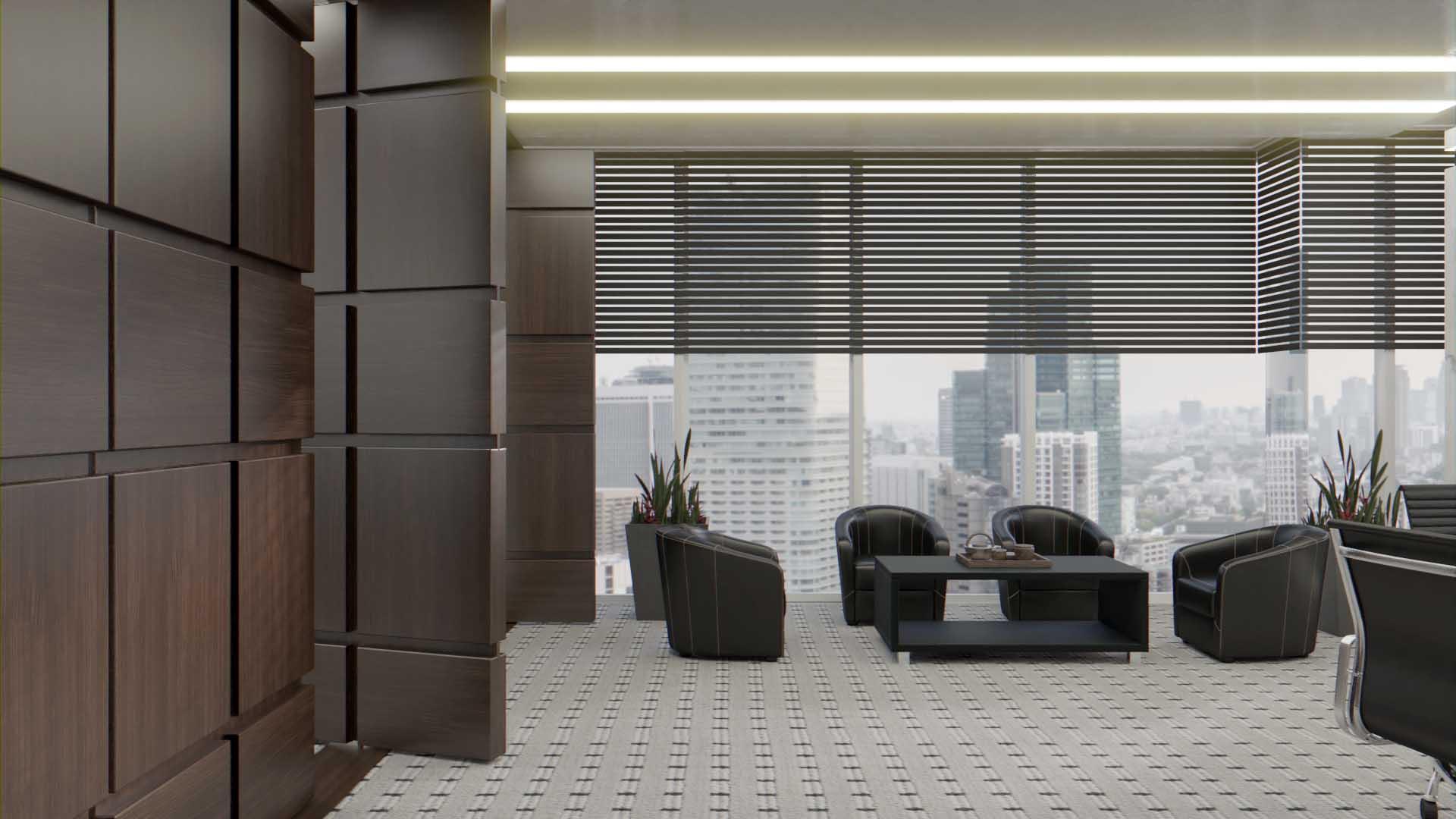Boardroom Room divider_Ramco_Serenity in