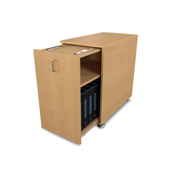 Pullout Cabinet Beech.1