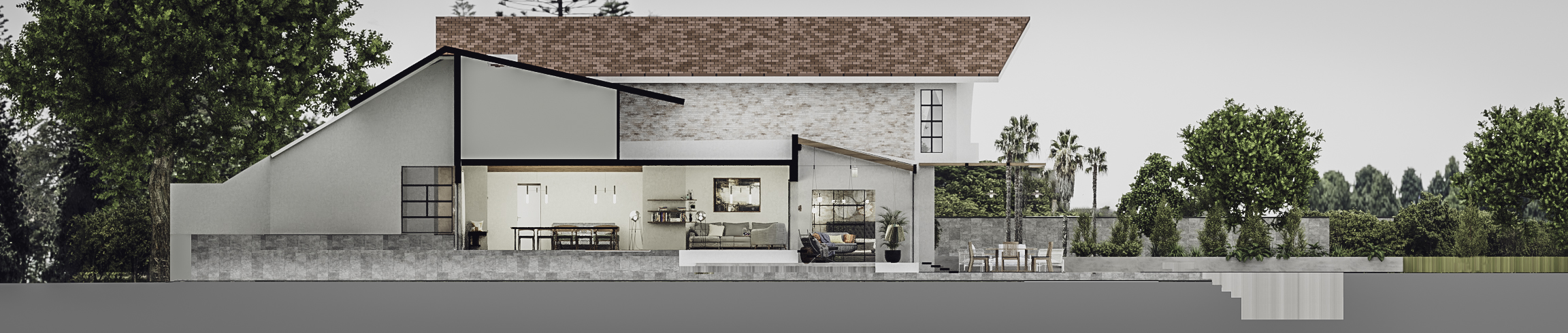 Elevation 1_Akiths residence
