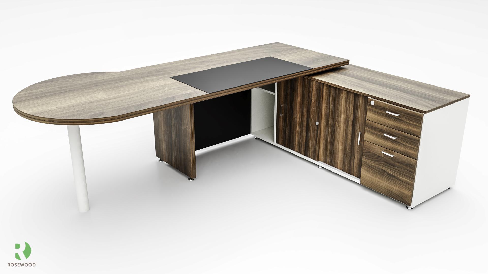 Custom Napoli desk2_Back view_Konvergenz