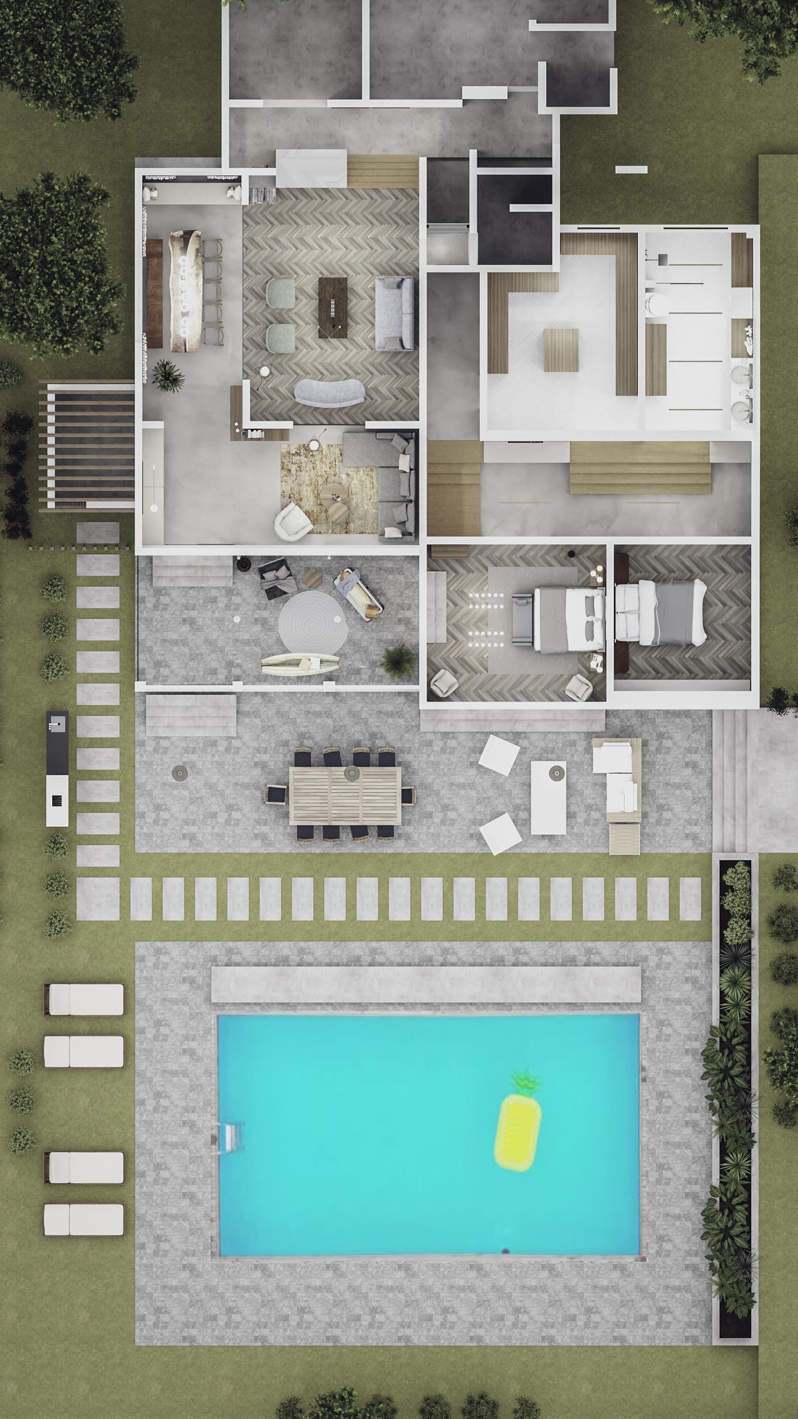 Top view_Akith residence