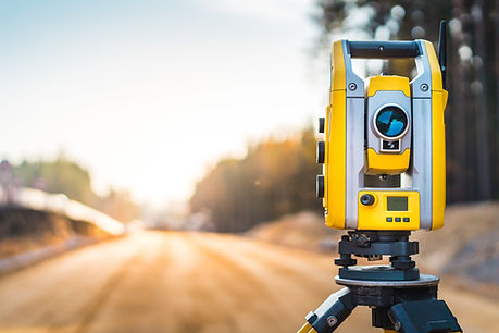 Surveyors equipment (theodolite or total