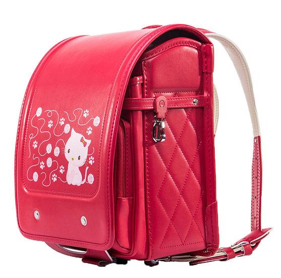 Школьный портфель (красный Hello Kitty)